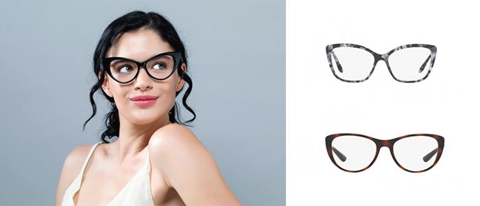 fryzury damskie do okularów