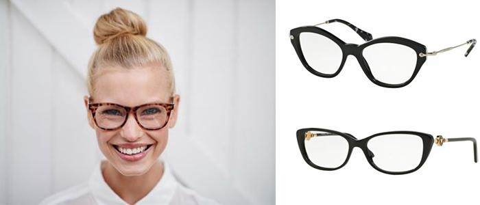 modne fryzury do okularów